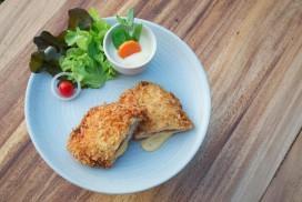 Chicken Steak Stuffed with Ham Cheese